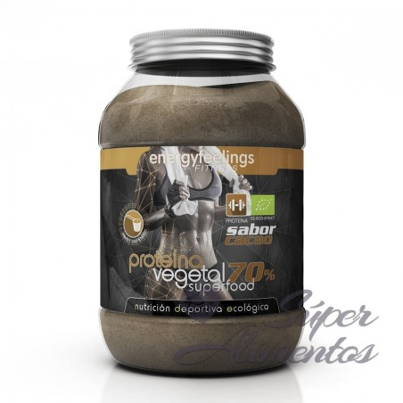 Organic proteina vegetal 70% cacao (NDE)