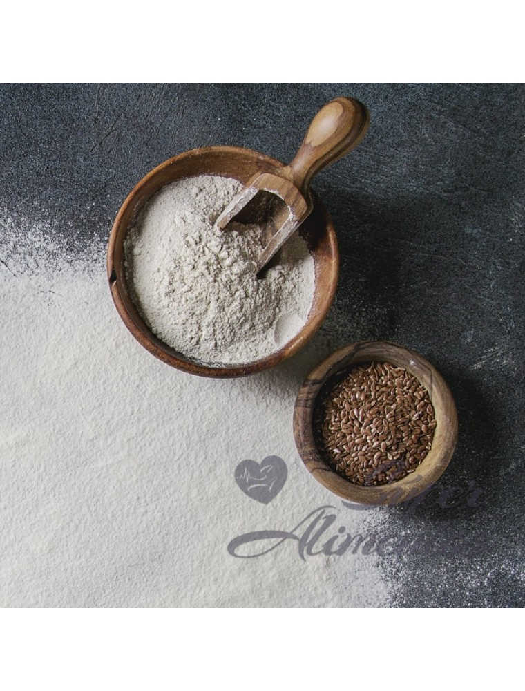 Lino dorado polvo ECO granel