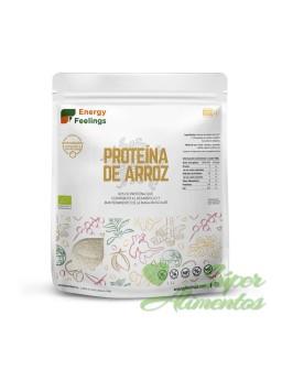 Proteína de arroz ecológica...