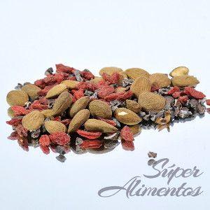 Goji cao: cacao criollo y bayas de Goji