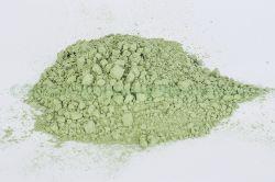 Trigo verde pulverizado. Alimento rico en clorofila